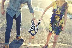 holding hands. Family Portrait Pose Ideas