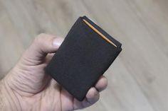 Vegan Wallet Design Fabric Mens Wallet Minimalist Wallet RFID – NERO - Minimalist Wallets with RFID protection Rfid Blocking Wallet, Rfid Wallet, Vegan Wallet, Minimalist Wallet, Gifts For Father, Wallets For Women, Valentine Day Gifts, Fabric Design, Minimal Wallet