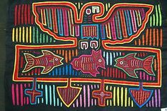 Kuna Traditional Mola Hand stitched Applique Panama Eagle & Prey Folk Art 43B. If you wish to receive the research I conduct on molas or wish to see more molas available, email us at cheetahdmr@aol.com. Asmatcollection on ebay and bonanza.com