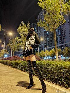 Thigh High Boots, Thigh Highs, Thighs, Punk, Beautiful, Style, Fashion, Swag, Moda