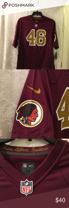 Nike NFL Jersey Sz. M #46 Alfred Morris Redskins. Nike NFL Jersey Sz. M On Field 479435-694 $100 #46 Alfred Morris Redskins.  Thank you for viewing my product. If you have any questions please contact me. NFL Other