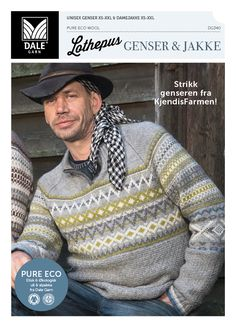 Skyt for faen! Enda mer LOTHEPUS på pinnene! Det begynte med Fjorden Cowboys på TV2. Nå er det ingen tvil om at Lothe er mann for sin genser, og du ser ham knapt uten. Men det var først da mannen viste seg på skjermen i en hjemmestrikket Dale-genser at Lothe-genser-hysteriet tok helt