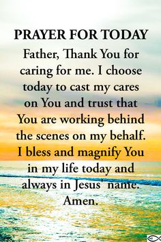 Prayer For Today, Daily Prayer, Bible Scriptures, Bible Quotes, Short Prayers, Everyday Prayers, Evening Prayer, Abba Father, King Jesus
