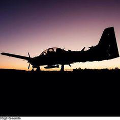Aeronave A-29 Super Tucano. Foto: Sgt Rezende. #FAB #A29 #A29SuperTucano #aviaçãodecaça #aviação #militar