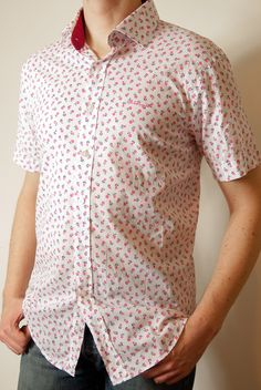 Paul Smith - shirt with flowers
