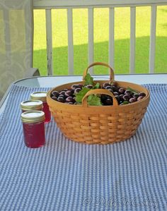 Dolly Is Cooking: Making Muscadine Jelly