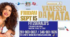 Vanessa Da Mata Houston Concert