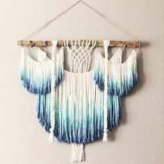 macrame wall hanging ombre ombre macrame wall hanging wall