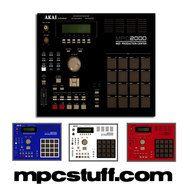 Akai Mpc 2000 Color Faceplate Skin Choose Color Choose Colors Akai Home Studio Music