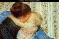 """""""Mary Cassatt - Experiencing Motherhood Through Art"""" by Monalisa. When I think of Mother's Day and Art, there's one artist that comes to mind instantly, Mary Cassatt. Mary was… #ArtBlog #ArtSupplies"""