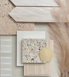 Interior Design Color Schemes, Interior Design Inspiration, Material Board, Material Library, Santa Fe Home, Mood Board Interior, Neutral Color Scheme, Stone Texture, Colour Board