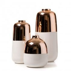 Copper Vases | Decoration Ideas | Home Decor Items | Home Accessories | For more inspirational ideas take a look at: www.bocadolobo.com