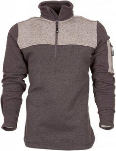Life-Line Spencer Heren Fleece Pullover in de kleur Donkergrijs