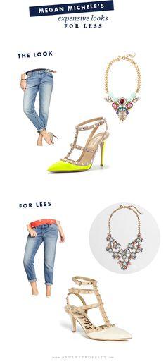 Fashion: 3 Trending Expensive Looks for Less | Megan Michele for Ashlee Proffitt