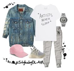 """""""Artist Never Sleep"""" by stylesbyglam on Polyvore featuring R13, NASASEASONS, Abercrombie & Fitch, adidas Originals, Michael Kors, men's fashion and menswear"""