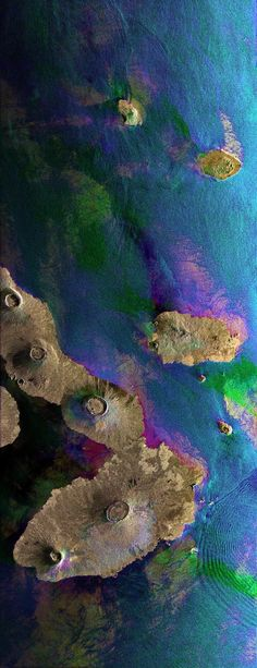 Galapagos Islands As Seen FromSpace