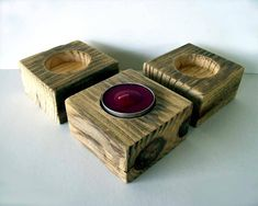 Pallet Candle Holders - 45 Easiest DIY Projects with Wood Pallets, You Can Build - Page 3 of 5 - Easy Pallet Ideas Pallet Furniture Designs, Wooden Pallet Furniture, Wooden Pallets, Pallet Designs, Pallet Wood, Furniture Projects, Diy Furniture, Wood Projects That Sell, Diy Wood Projects