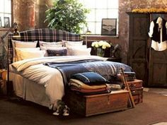British Country Style Bedroom Decoration Source by decorationmodelsclub Americana Bedroom, Home Bedroom, Bedroom Decor, Bedroom Ideas, Bedrooms, British Country Style, Boy Room, Decoration, Home Interior Design