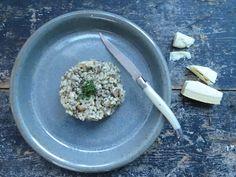 Risotto met paddenstoelen Risotto