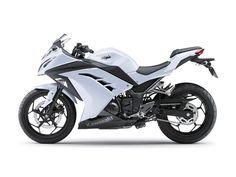 Kawasaki Ninja 300 2013 Pearl White