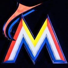 Best logo and design in the league hands down Marlins Baseball, Florida Panthers, Miami Marlins, Mlb Teams, Home Team, National League, Miami Heat, Miami Florida, Cool Logo