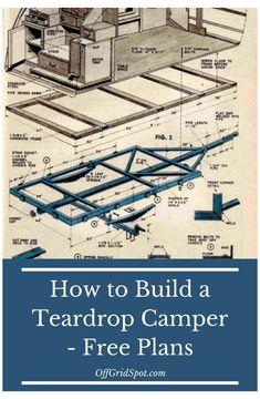 Small Camping Trailer, Diy Camper Trailer, Build A Camper, Trailer Build, Teardrop Trailer Plans, Building A Teardrop Trailer, Teardrop Camper Trailer, Teardrop Camping, Camper Boat