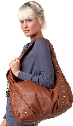 Roxy brown purse  (i borrowed this -in a different color- from my sister...its been the most amazing diaper bag! love it!)