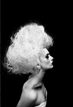 High Fashion/Editorial - Makeup:Meghann Mason, MDM Artistry. WIg: Kelsey Contois Husch. Photo by Lei Rivera.
