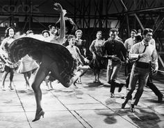 Rita Moreno Dancing with Cast of West Side Story Rita Moreno, West Side Story 1961, The Great Ziegfeld, George Chakiris, Luise Rainer, Famous Ballets, Divas, The Others Movie, Bessie Love