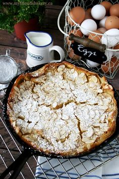 Dessert Every Night And Almond Pear Clafoutis | My Friend's Bakery