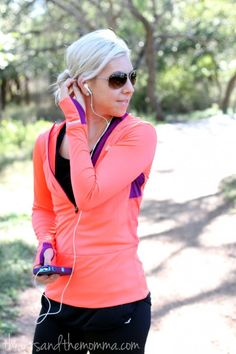 running, work out clothes @New Balance