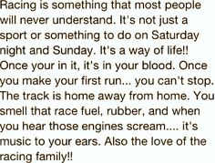 racers & fans, Drag Racing is in our blood...