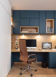 56 Amazing Home Office Design Ideas that Inspire - Architect.- 56 Amazing Home Office Design Ideas that Inspire – Architecture Designs 56 Amazing Home Office Design Ideas that Inspire - Small Office Design, Office Interior Design, Office Interiors, Office Designs, Design Interiors, Interior Modern, Interior Ideas, Modern Office Decor, Home Office Decor