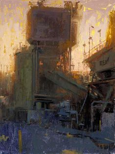 A paining by California artist William Wray