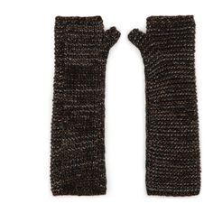 KLOW - Automne Hiver 2014 - Maje Maje, Fingerless Gloves Knitted, Fasion, Arm Warmers, Knitting, My Style, Winter, Metallic, Fall Winter 2014