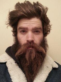 bushy beard styles for men