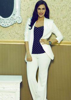 Neha Dhupia models silhouettes #Bollywood #Fashion #Style