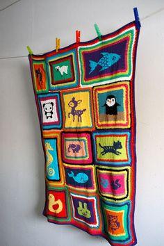 Incredible baby blanket. :)