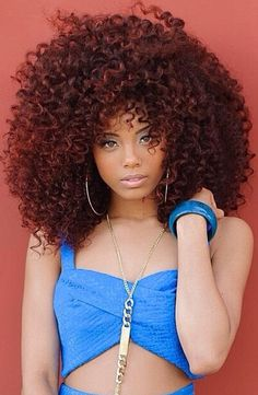{Grow Lust Worthy Hair FASTER Naturally}>>> www.HairTriggerr.com <<<      Real or Not This is a Great Curly Fro!
