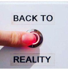 Reality calls
