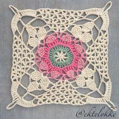 Diseño square crochet para múltilpes tejidos
