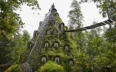 The Magic Mountain Lodge in Huilo-Huilo Chile