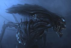 Alien Queen, Lincoln Hughes on ArtStation at https://www.artstation.com/artwork/vrAPE