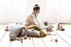 Marika Giacinti   Textures x Pompoms   Kutch et Couture