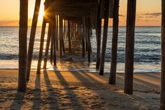 Sunrise Under the Pier by Nadeen Flynn, posted on the CMPro Daily Project.   nadeenflynn.com
