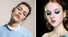 Maquillaje de ojos azul para el día y la noche - http://www.bezzia.com/maquillaje-ojos-azul-dia-la-noche/
