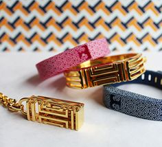 Tory Burch for FitBit - Fashion and Beauty - July 2014