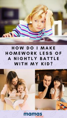 A mom writes in asking for advice about ways to make homework less of a nightly battle for her and her kindergarten-age child. Samantha Cooper offers advice.