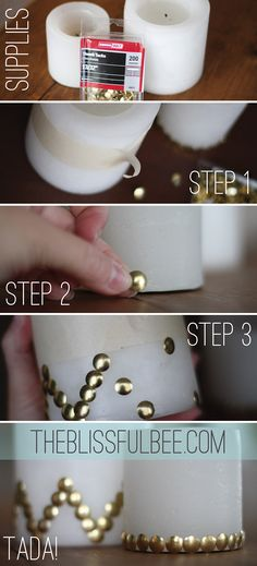 Easy Candle Facelift