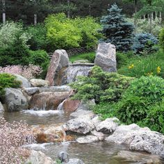 Сад с ручьем в Новогорске - ARCADIA GARDEN Landscape studio